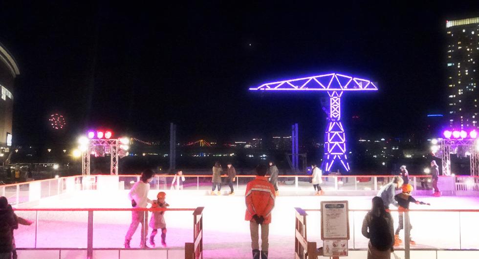 ららぽーと豊洲 Sea Side アイススケートリンク